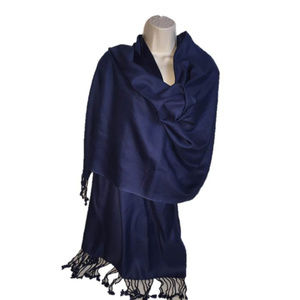 """KENNETH COLE REACTION Blue Rayon Wrap 22"""" x 79"""""""